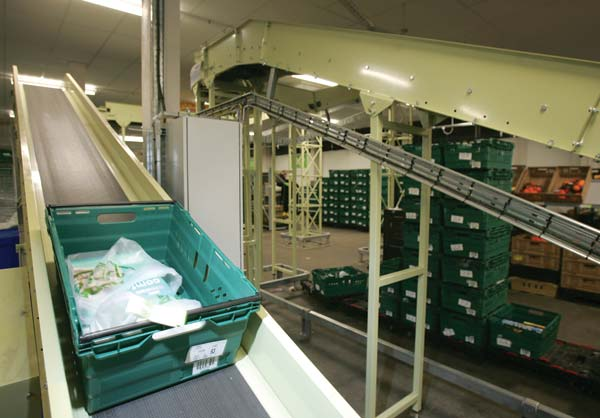 a4711ef699 Exmac conveyor helps Asda achieve real efficiency in its first Home Shopping  Centre