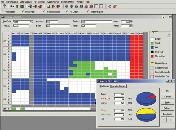 Delta launches 39 hybrid hosted 39 wms software rental for for Warehouse mapping software