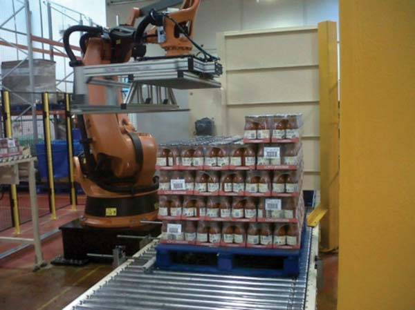 Scm Handling In Affiliation With Kuka Robotics Uk Warehouse