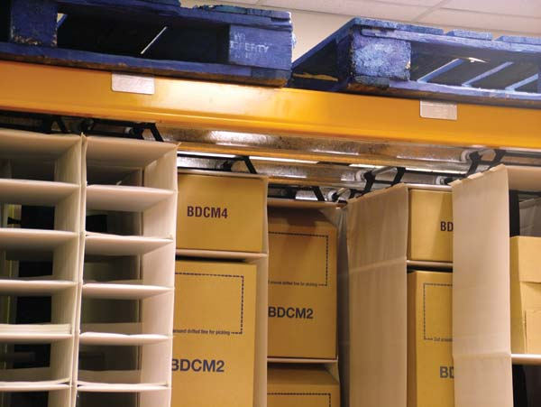 Apex Linvar in action utilise dead space with cost-effective storage ...