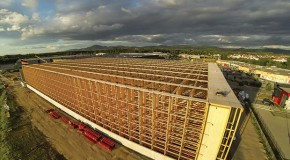 Wood, as far as the eye can see Swisslog expands an organic food distribution center for Alnatura