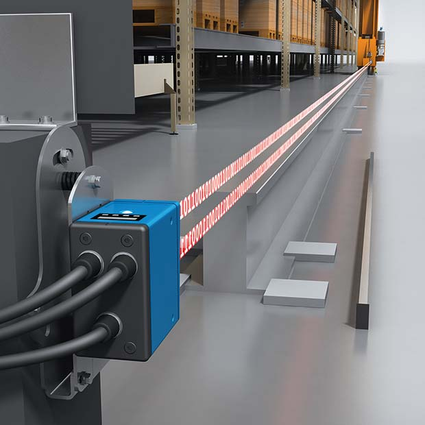 Sick Isd400 Pro Brings Warehouse Crane Automation Up To