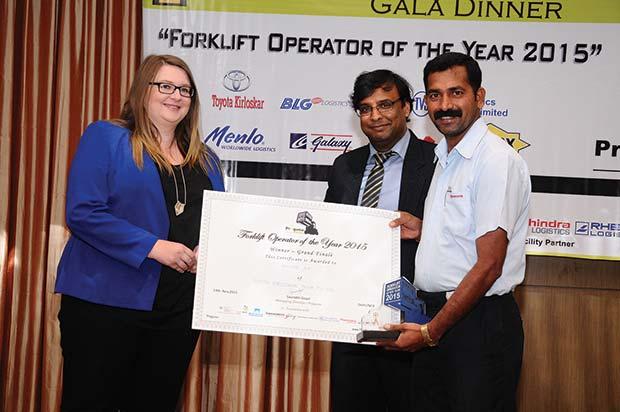 Toyota-Kirloskar-Motor-employee-crowned-inaugural-Forklift-Operator-of-the-Year---India