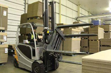 Forklift-attachment
