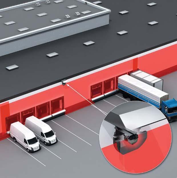 sick laser scanning technology makes reliable distribution. Black Bedroom Furniture Sets. Home Design Ideas