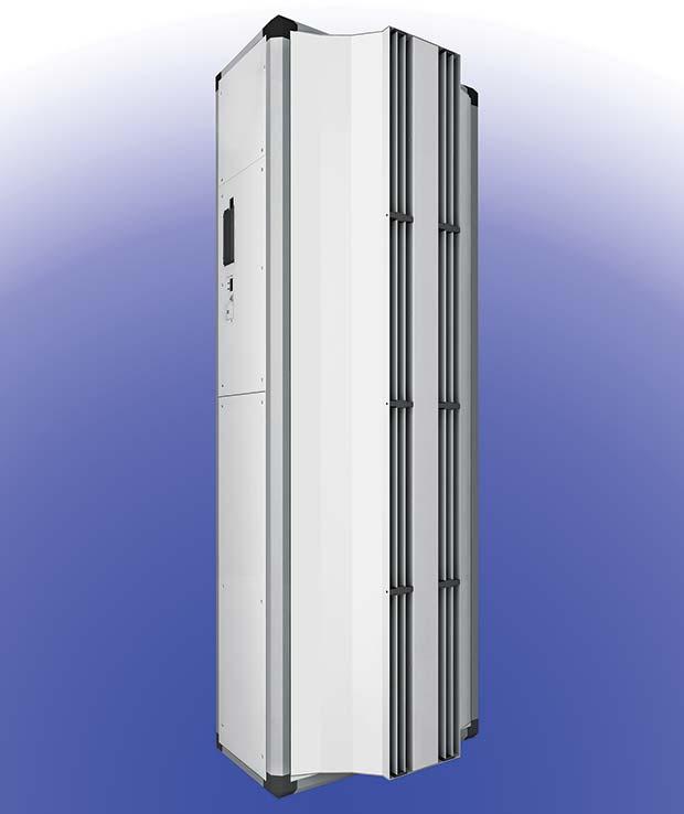 Industrial Air Doors : Powerful industrial air curtain warehouse logistics news