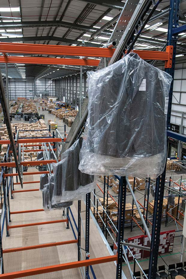 Asos Selects Bs Handling Systems To Install Goh System For