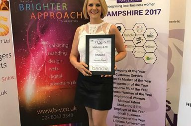 Transport and Logistics Marketing Manager named as finalist for Venus Awards Hampshire