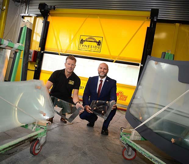 Chris Hannant Tyneside Safety Glass