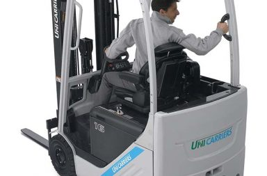 UniCarriers electric TX series has ten new models