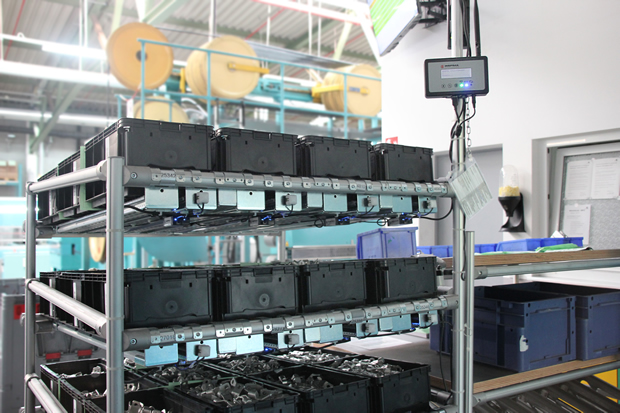 Cable manufacturer Auto-Kabel controls stock replenishment with the ...