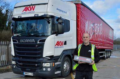 AKW rewards double decade driver