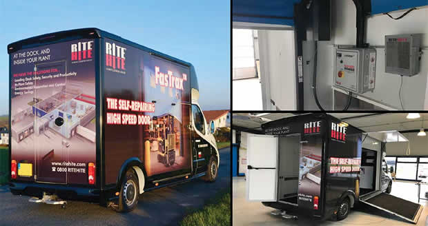 Rite Hite On Tour High Speed Doors The Way They Should