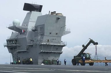 New carriers set to sea equipped with kit supplied by Briggs Defence