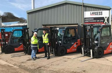 ATEX safety for LANXESS Urethanes' fleet