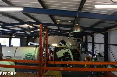 Top commercial vehicles provider benefiting from huge energy savings thanks to Ecolighting